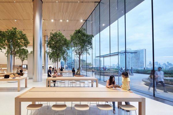 Apple Store sous l'ère Ahrendts