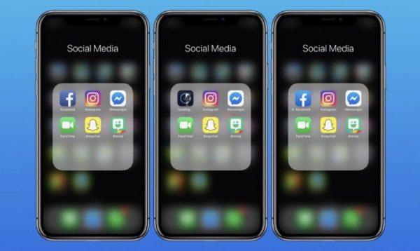 Facebook app iOS