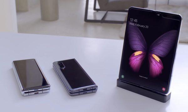Samsung Galaxy Fold - smartphone pliable