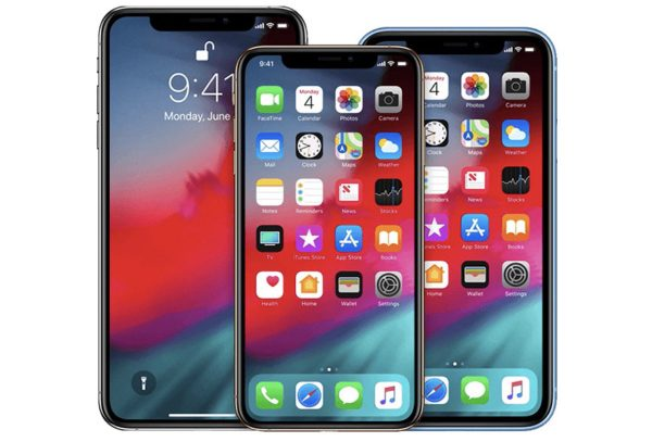 iPhone XS/Max et XR