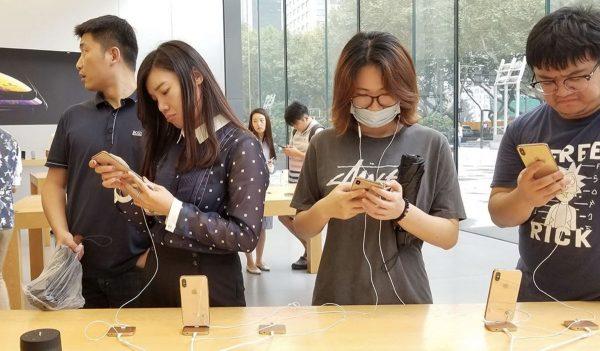 iPhone en Chine