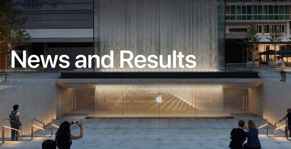 Apple : News and Results