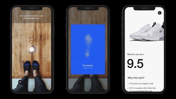 Nike app iOS