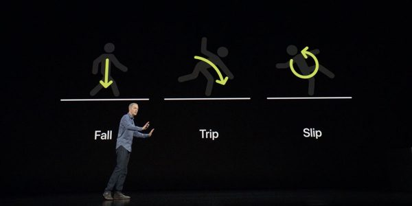 Apple Watch - détection de chutes