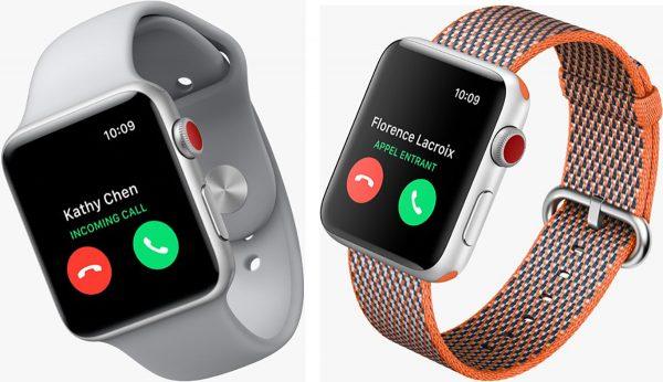 eSIM SFR Apple Watch