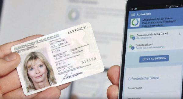 iPhone carte d'identité