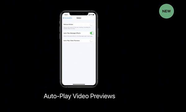 Auto-Play Video Previews - iOS 13