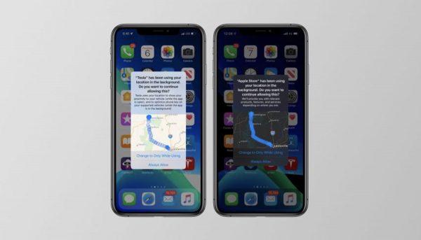 iOS 13 - localisation application