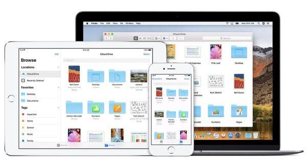 iOS 13 - iCloud Drive