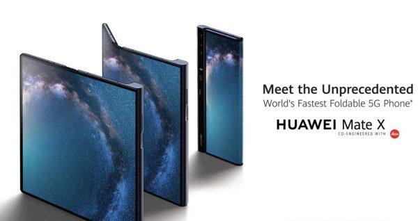 Mate X, smartphone pliable de Huawei