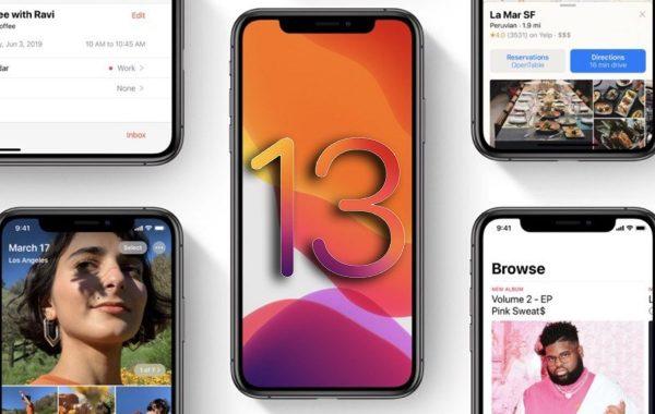 iOS 13 bêta 6