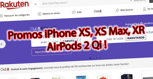 Promos iPhone XR, iPhone XS
