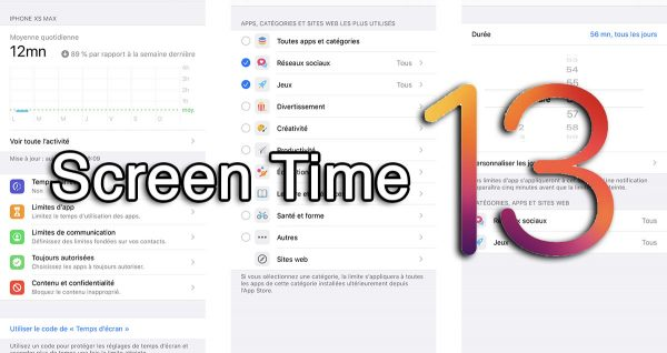 Screen Time iOS 13
