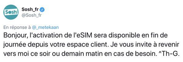 eSIM Sosh