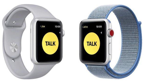 Talkie-Walkie Apple Watch