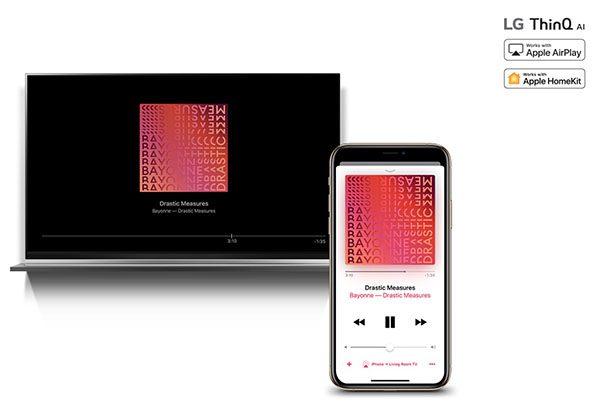 AirPlay 2 - HomeKit - Smart TV LG