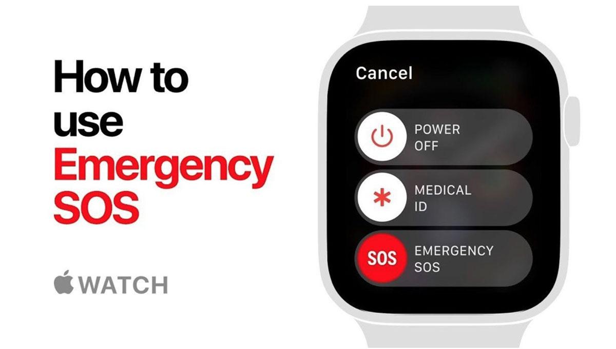 La fonction SOS de l'Apple Watch sauve un homme de la noyade