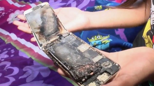 L'iPhone 6 d'une fillette de 11 ans explose, Apple enquête