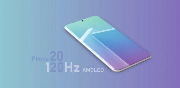 iPhone 2020 avec écran ProMotion ?