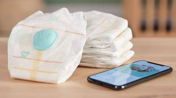 Pampers Lumi, des couches intelligentes