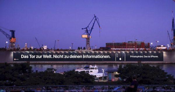 Pub Apple sur la confidentialité en Allemagne
