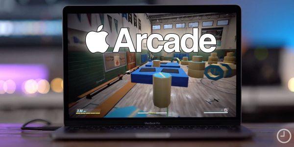 Prévisualisation d'Apple Arcade