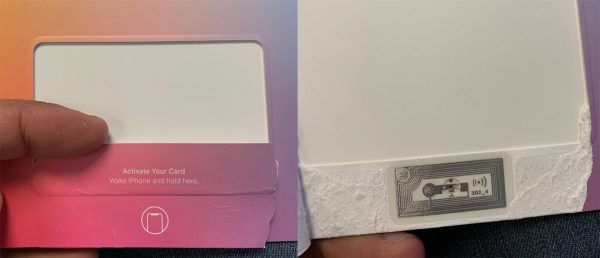 Apple Card NFC