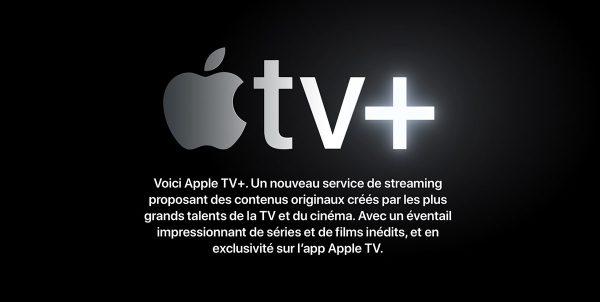 Apple TV+, service de streaming Apple prévu cet automne