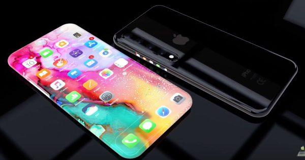 Concept iPhone à écran OLED incurvé