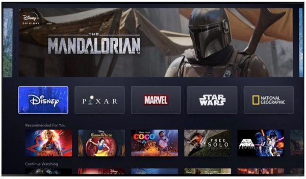Disney+ pour iOS et tvOS