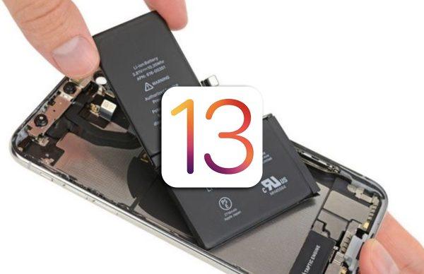 Apple bloque la fonction État de la batterie avec iOS 13 pour les batteries non-officielles.