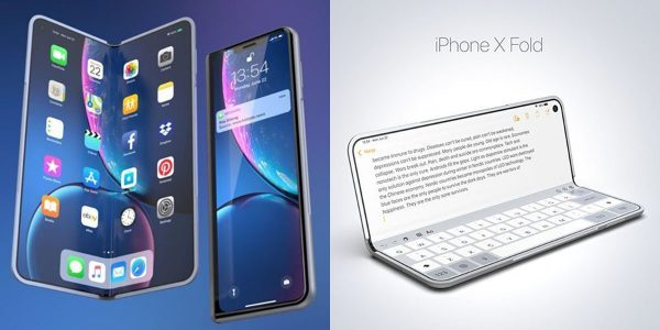iPhone pliable - iPhone X Fold