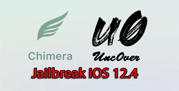 Jailbreak iOS 12.4 avec Chimera ou Unc0ver