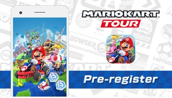 Mario Kart Tour en précommande sur l'App Store
