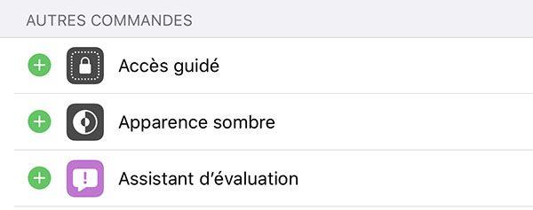 iOS 13 : mode sombre
