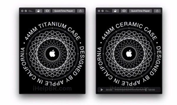 watchOS 6 : Apple Watch en titane et en céramique