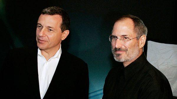 Bob Iger & Steve Jobs