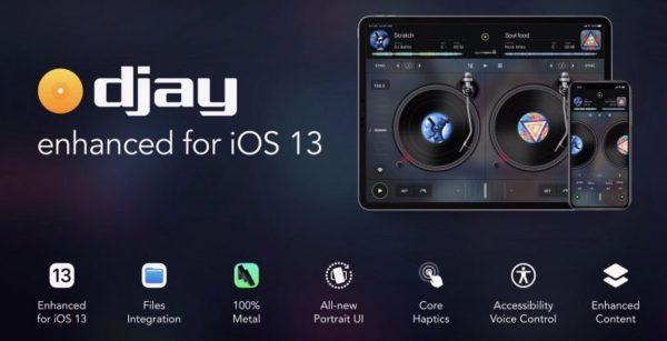 Djay pour iPadOS 13