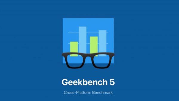 Geekbench 5 pour iOS