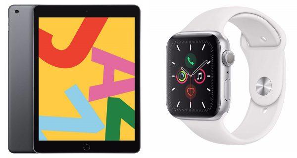 "iPad 10,2"" et Apple Watch Series 5"