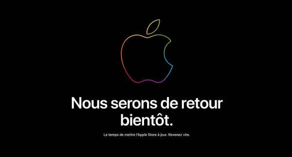 Keynote : Apple a fermé son Apple Store en ligne