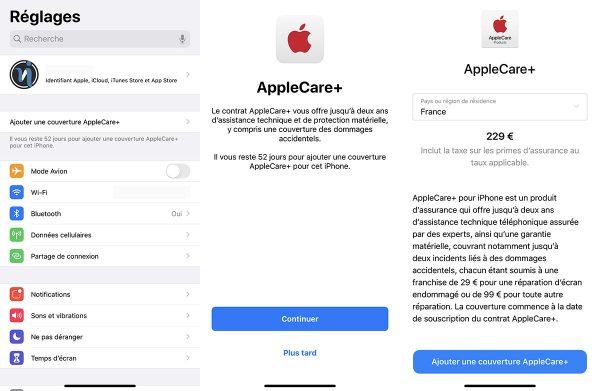 iOS 13 - AppleCare+