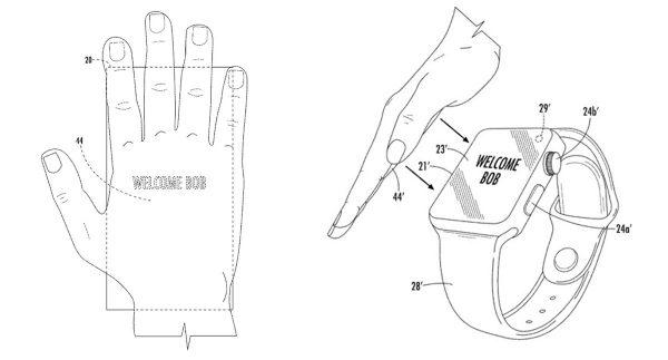 Brevet Apple : les futurs iPhone reconnaîtront la paume de votre main