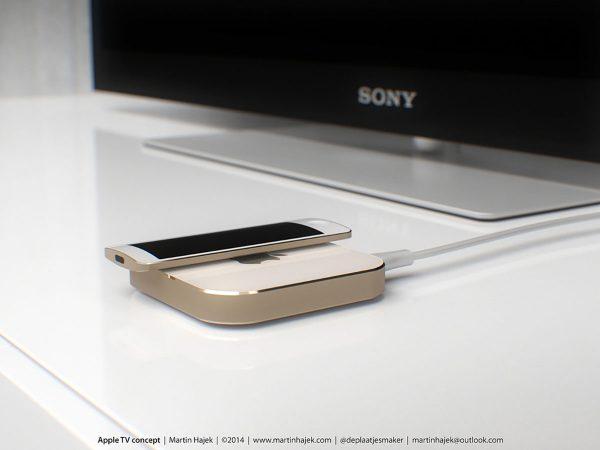 Concept Apple TV de Martin Hajek