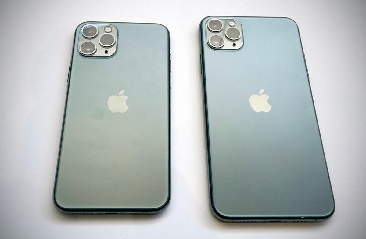 Déballage iPhone 11 Pro Max  premières photos avant la