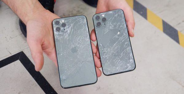 Drop test iPhone 11 Pro et Pro Max