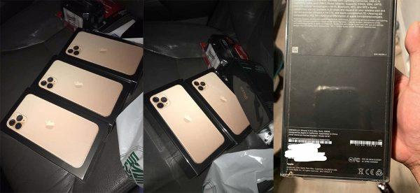 Boîtes iPhone 11 Pro / Max