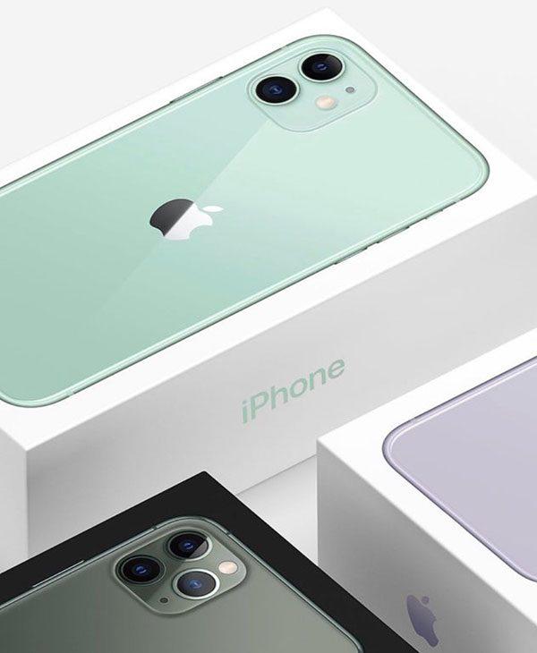 Boîtes iPhone 11, 11 Pro / Max