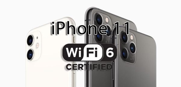 iPhone 11 compatible Wi-Fi 6