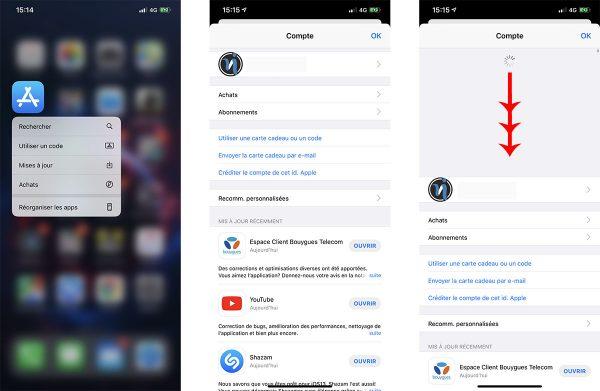 App Store sous iOS 13